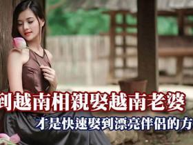 到越南相親娶越南老婆才是快速娶到漂亮伴侶的方式